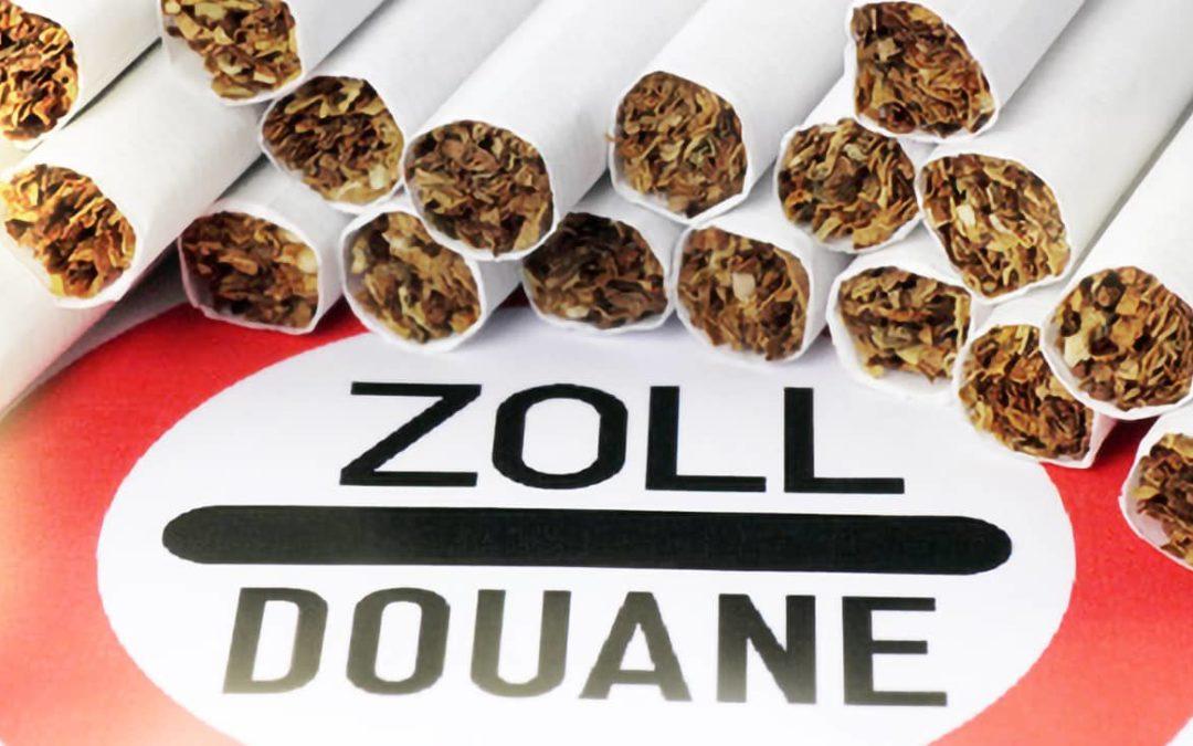 Cigarette detained articles EU