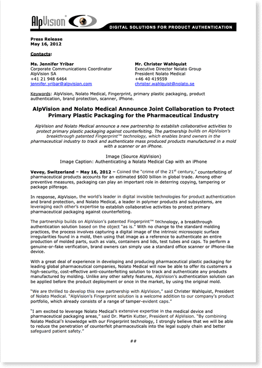 Press releases 6