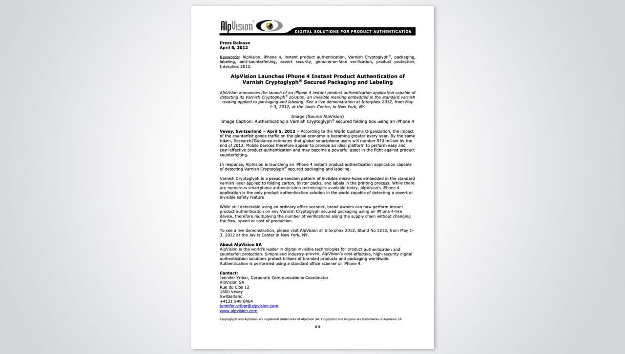 Press releases 14