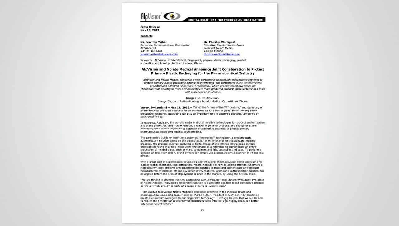 Press releases 13