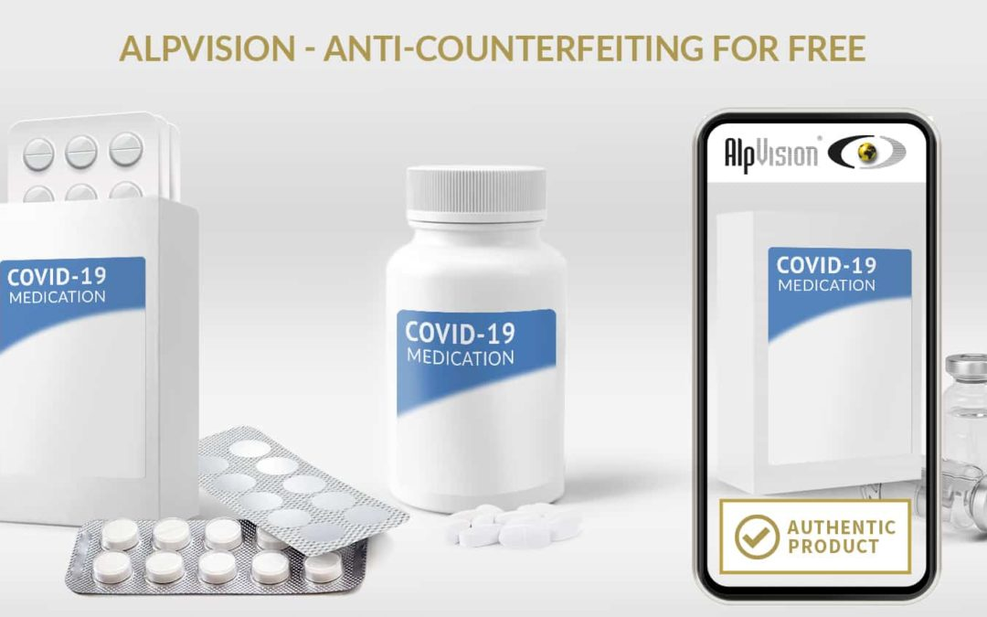 Free anti-counterfeiting solution for COVID-19 medicines