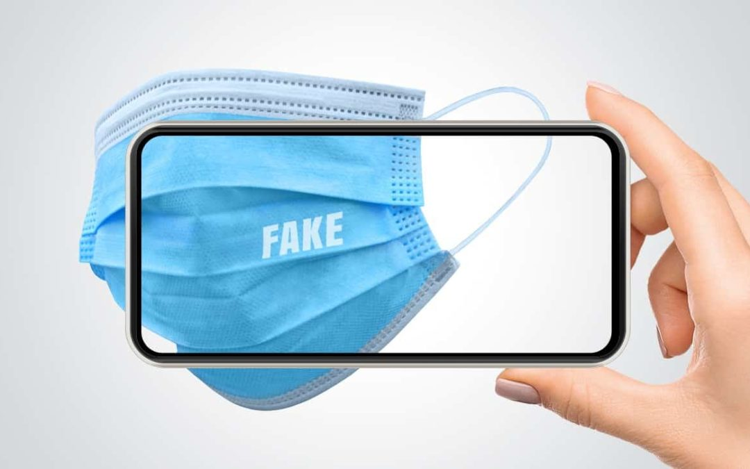 Counterfeit surgical masks
